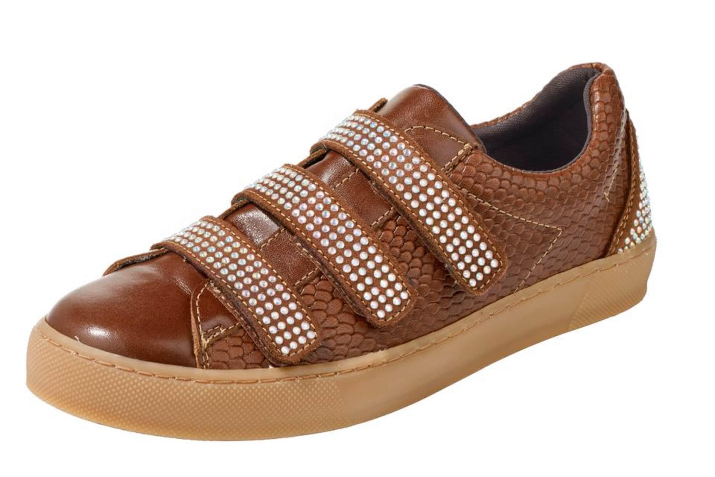 heine Sneaker mit Schmucksteinchen Verschleißfeste billige Schuhe