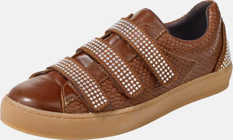 heine | Sneaker mit Schmucksteinchen
