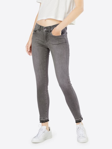 Calvin Klein Jeans Jeans 'MR SKINNY TWISTED ANKLE' in Grijs