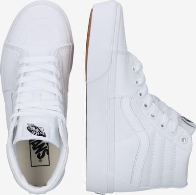 VANS Sneaker 'SK8-Hi Platform 2.0' in weiß: Seitenansicht