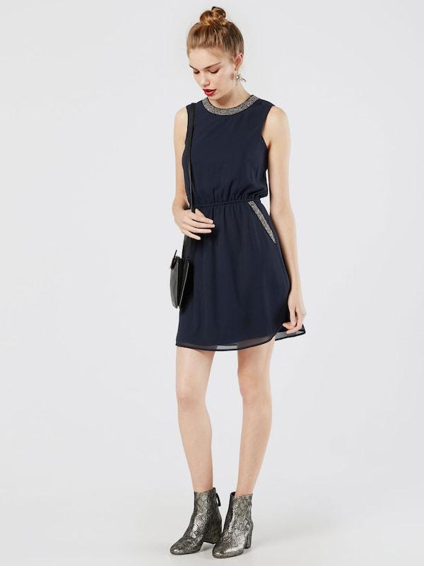 ONLY Detailreiches Kleid ohne Ärmel