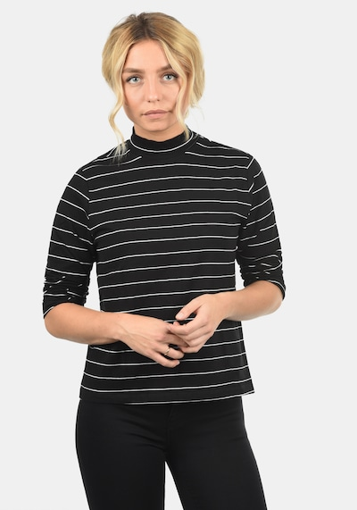 JACQUELINE de YONG Shirt 'Anne' in schwarz: Frontalansicht