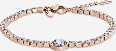FAVS Armband in rosegold / transparent, Produktansicht