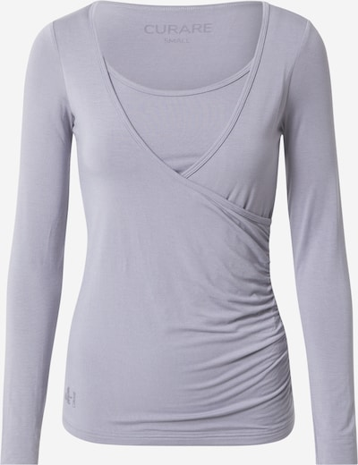 CURARE Yogawear Funktsionaalne särk 'Flow' helehall, Tootevaade