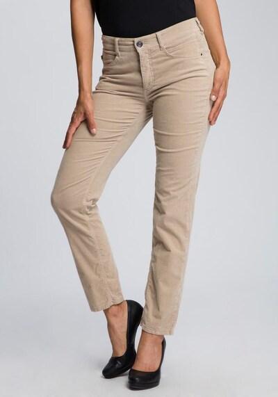 MAC Jeans »Angela Cord« in beige, Modelansicht