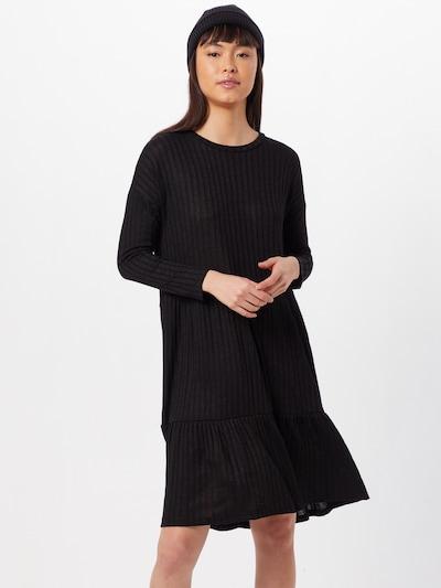 SISTERS POINT Robes en maille 'Vini' en noir, Vue avec modèle