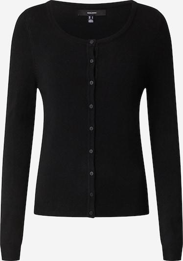 Vero Moda Petite Kardigan 'NELLIE' w kolorze czarnym: Widok z przodu