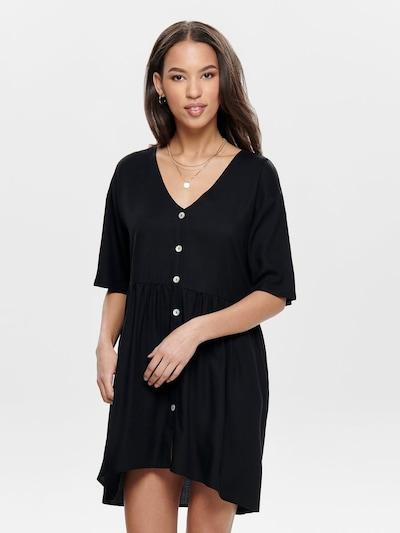 ONLY Robe-chemise en noir: Vue de face