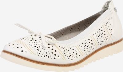 Xti Ballerina in weiß, Produktansicht
