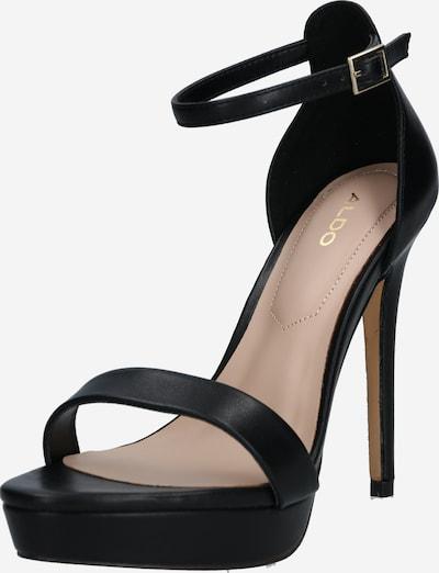 ALDO Sandali s paščki 'MADALENEW' | črna barva, Prikaz izdelka