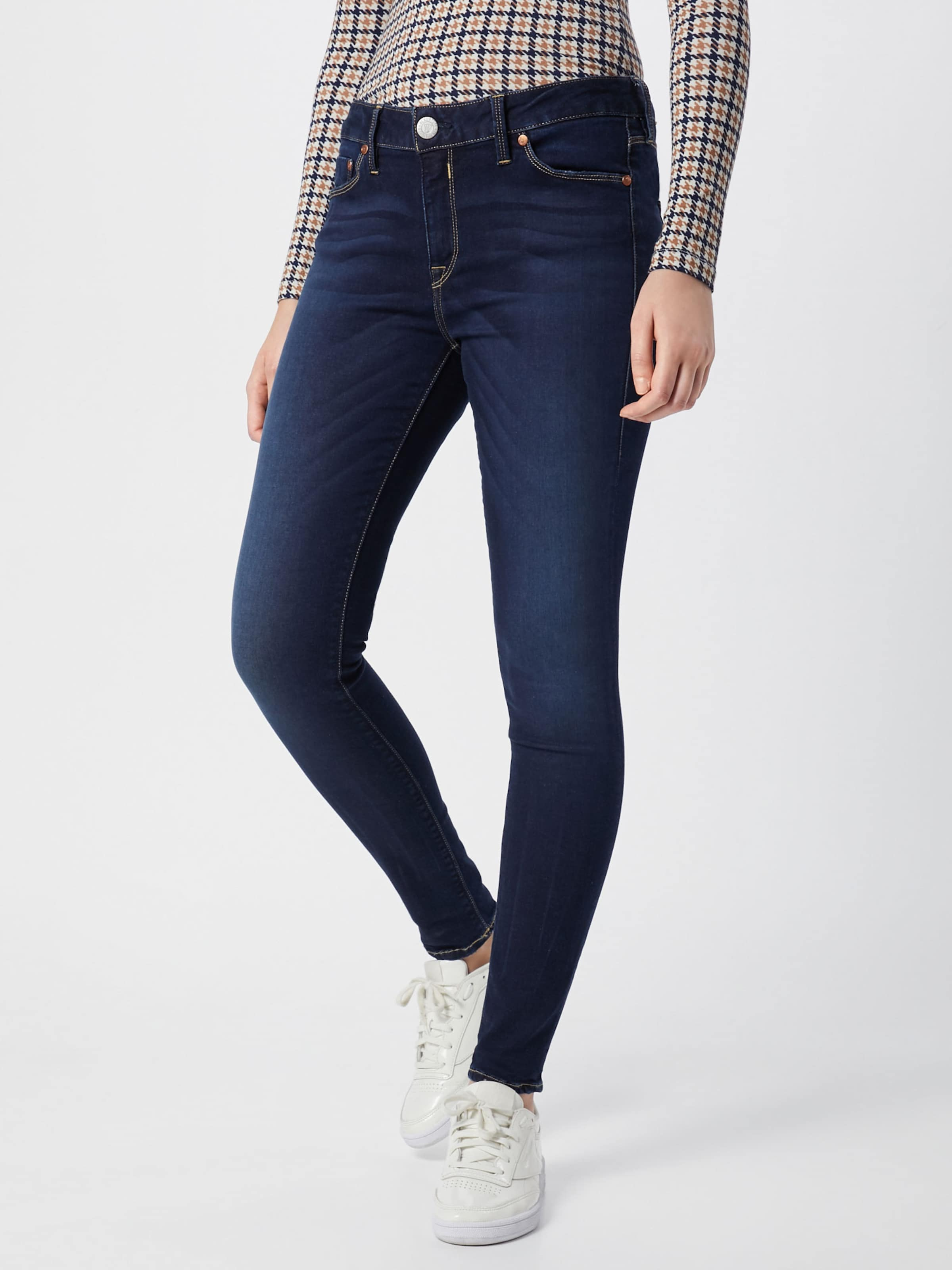 Powerstretch' 'superslim Herrlicher In Jeans Dunkelblau Denim TFul3K1Jc