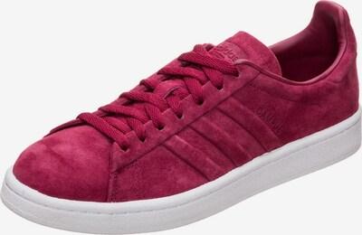 ADIDAS ORIGINALS Sneaker 'Campus Stitch and Turn' in burgunder: Frontalansicht