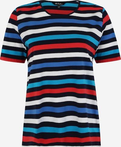 Ulla Popken Shirt in türkis / dunkelblau / rot / weiß, Produktansicht