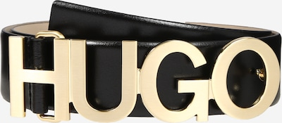 HUGO Ceinture 'Zula Belt 4 cm-ZL' en noir, Vue avec produit