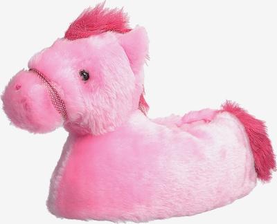HORKA Hausschuhe 'PFERD' in pink / merlot, Produktansicht