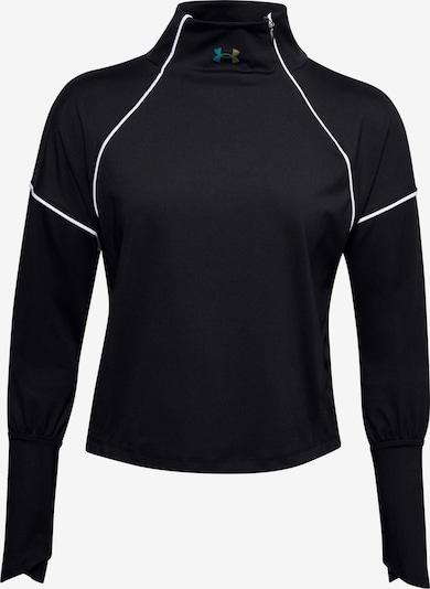 UNDER ARMOUR Camiseta funcional 'Rush' en negro / blanco, Vista del producto