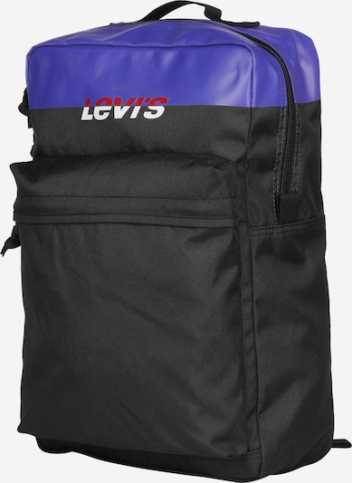 LEVI'S Rucksack ' The  L Pack Standard Issue Colorblock ' in lila / schwarz, Produktansicht