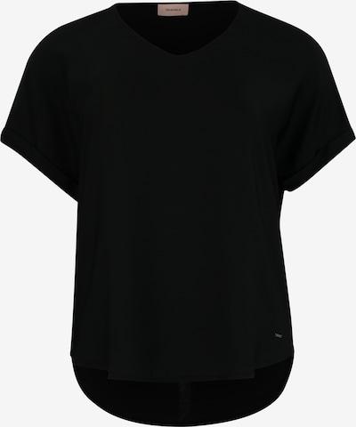 TRIANGLE T-shirt en noir, Vue avec produit
