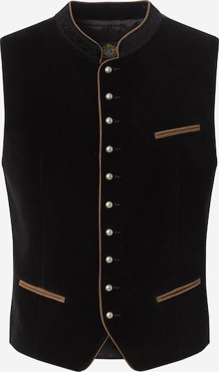 HAMMERSCHMID Klederdracht gilet 'Albrecht' in de kleur Zwart, Productweergave