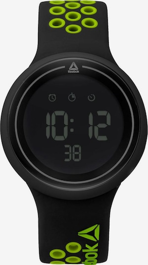 REEBOK Digitaluhr »DURANTE« in schwarz, Produktansicht