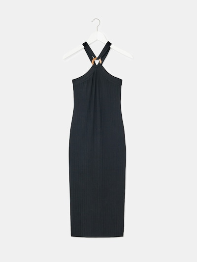 EDITED Kleid 'Charlize' in schwarz: Frontalansicht