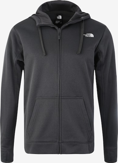 THE NORTH FACE Sportsweatshirt 'Men's Surgent Full Zip Hoodie' i mørkegrå, Produktvisning