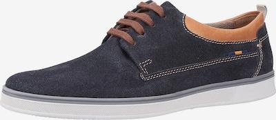 FRETZ MEN Sneaker in blau / hellbraun, Produktansicht