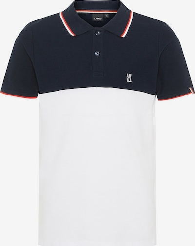 NAME IT Poloshirt in nachtblau / rot / weiß, Produktansicht