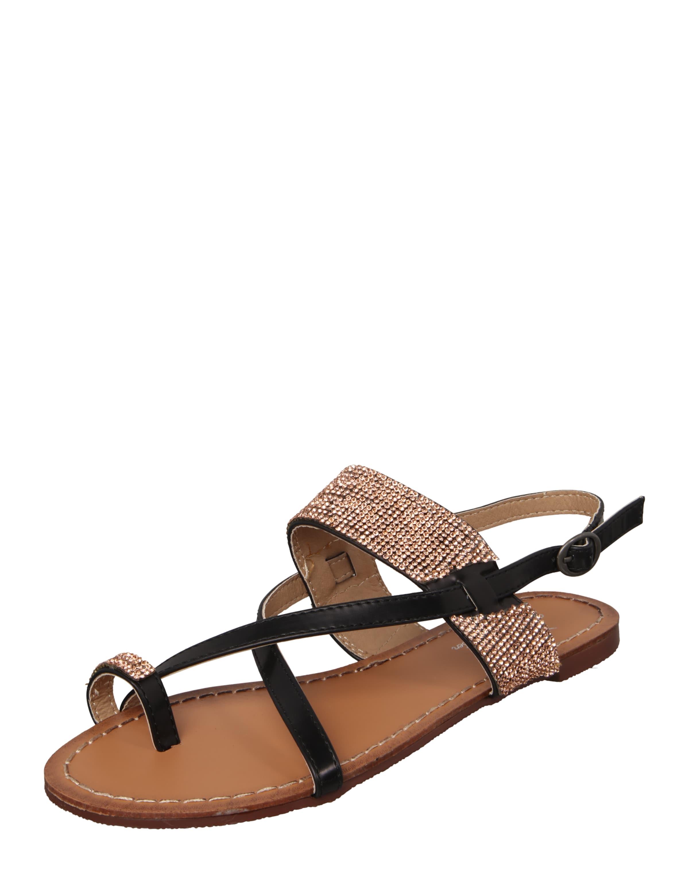 Fritzi aus Preußen Sandalen mit Glitzersteinen 'Sand04' Mode-Stil Zu Verkaufen CUvadiao
