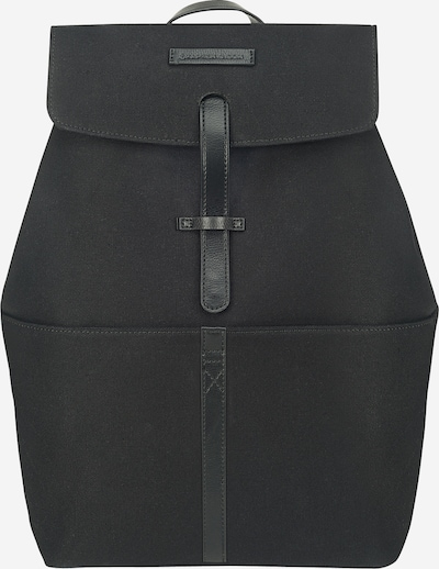 Kapten & Son Rucksack 'Copenhagen' in schwarz, Produktansicht