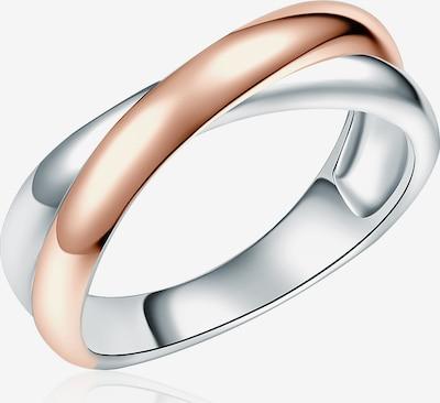 Rafaela Donata Ring in rosegold / silber: Frontalansicht