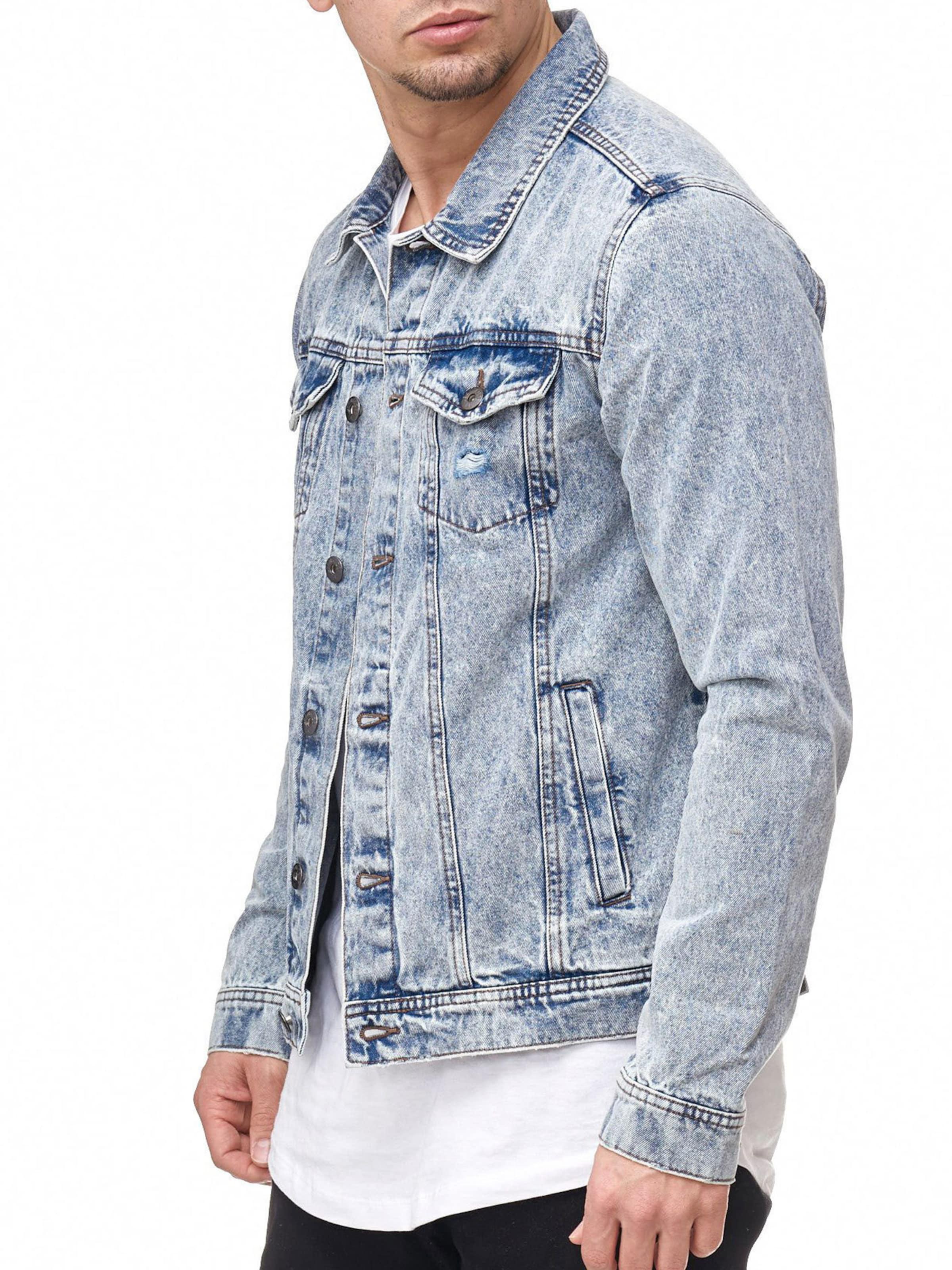 Jeans ' Bryne En Denim Veste Mi Indicode saison Bleu WH2YDIE9