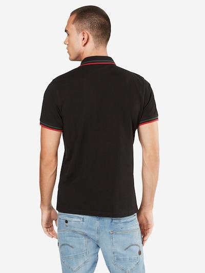 Urban Classics Shirt in grün / rot / schwarz: Rückansicht