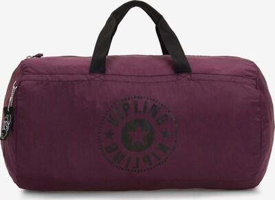KIPLING Reisetasche 'Packable Bags Onalo' in beere / schwarz, Produktansicht