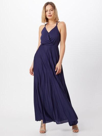ABOUT YOU Maxikleid 'Falda' in dunkelblau, Modelansicht