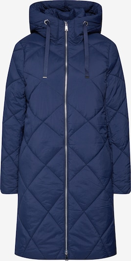 ESPRIT Manteau d'hiver 'Quilted coat' en bleu marine, Vue avec produit