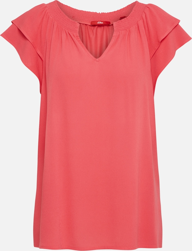s.Oliver T Shirt in pink: Frontalansicht