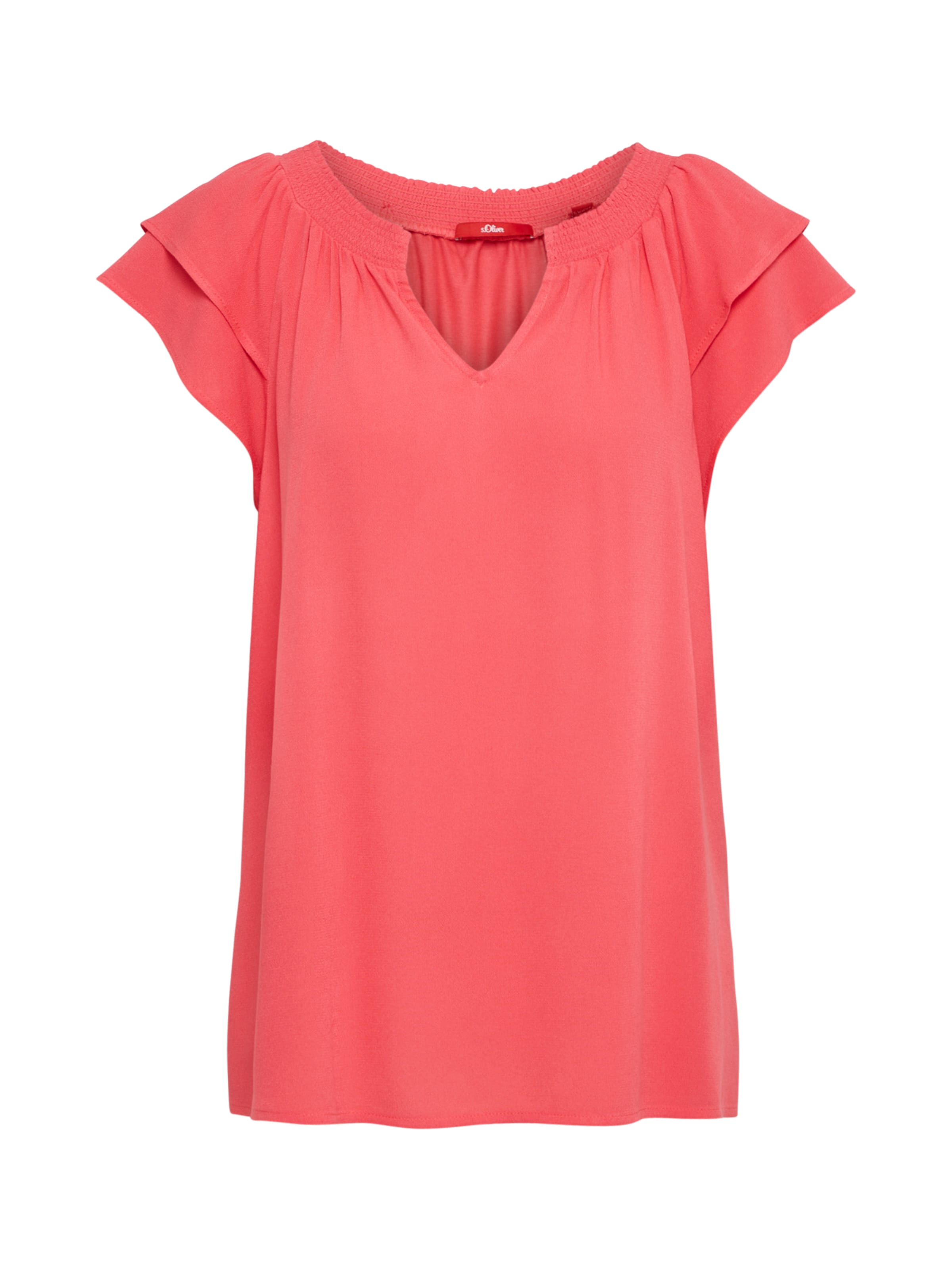 S T oliver shirt Label Red En Rose rtrwIqxad