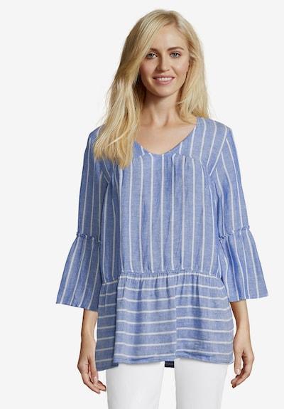Betty Barclay Schlupfbluse in blau / weiß, Modelansicht