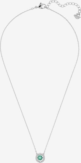 Swarovski Kette 'Sparkling' in hellgrün / silber, Produktansicht