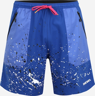 DIESEL Shorts de bain 'Tunapo' en bleu / bleu ciel, Vue avec produit