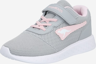KangaROOS Baskets 'K-Mile EV' en gris clair / rose, Vue avec produit