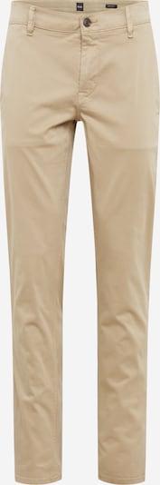 Pantaloni eleganți BOSS pe bej, Vizualizare produs