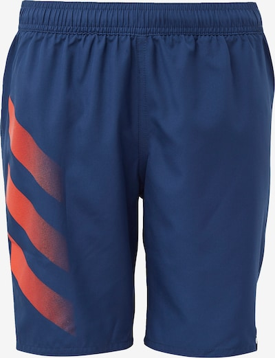 ADIDAS PERFORMANCE Sportbadehose in navy / orange: Frontalansicht