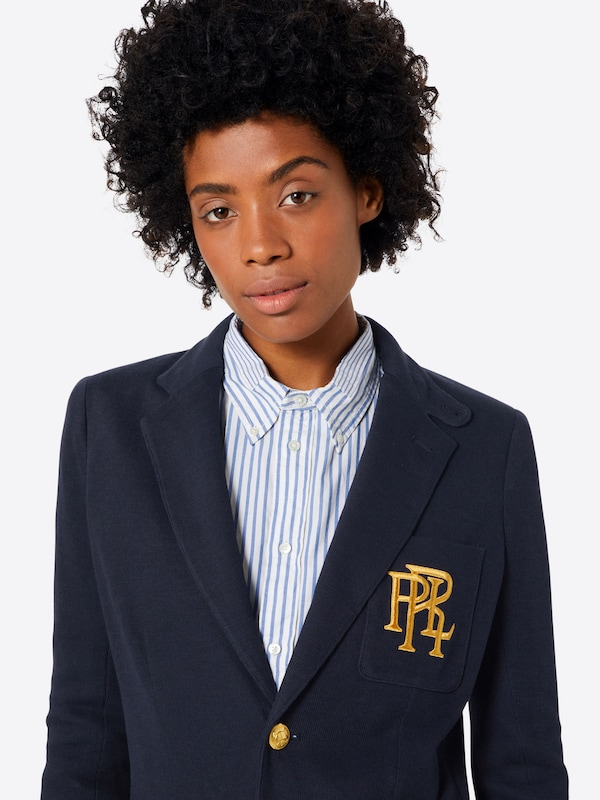 POLO RALPH LAUREN LAUREN LAUREN Strickblazer in navy  Neu in diesem Quartal 5a617f