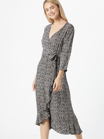 PIECES Kleid 'Muuna' in hellpink / schwarz / weiß, Modelansicht