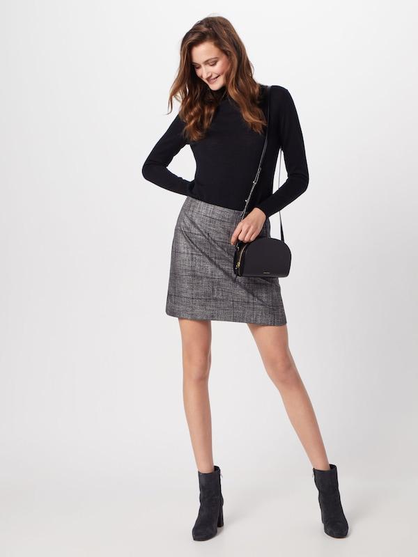 Gris Skirt Stripe Plaid' 'side Foncé Banana Republic En Jupe Mini sQCrhtxd