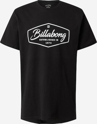 BILLABONG Shirt 'Trademark' in schwarz / weiß, Produktansicht