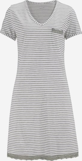 H.I.S Nightgown in light grey / white, Item view