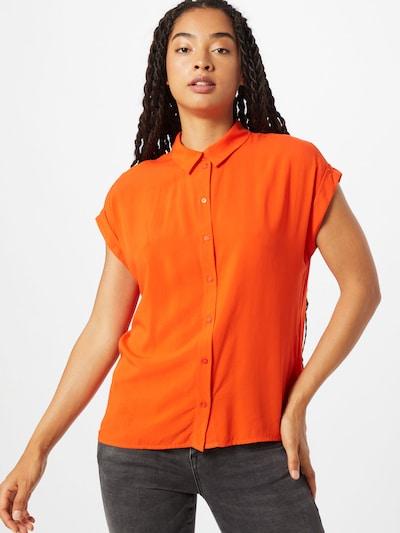 TOM TAILOR Bluza | oranžna barva, Prikaz modela